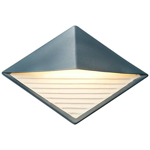 "Ambiance Collection 8"" High Midnight Sky LED Outdoor Wall Light"