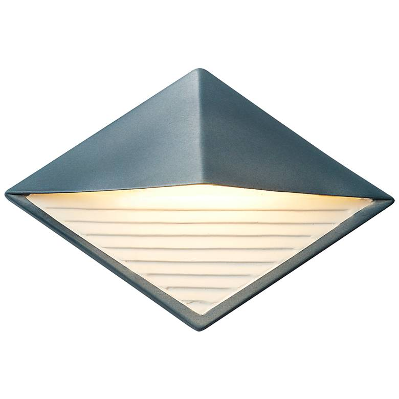 """Ambiance Collection 8"""" High Midnight Sky LED Outdoor Wall Light"""