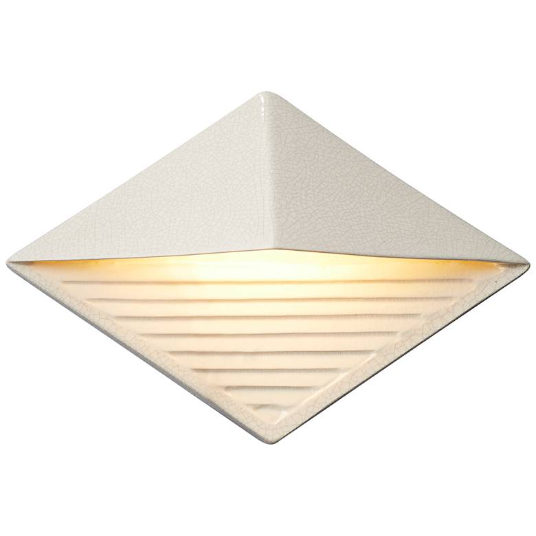 """Ambiance Collection™ 8"""" High White LED Outdoor Wall Light"""