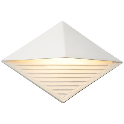 """Ambiance Collection™ 8"""" High Bisque LED Outdoor Wall Light"""