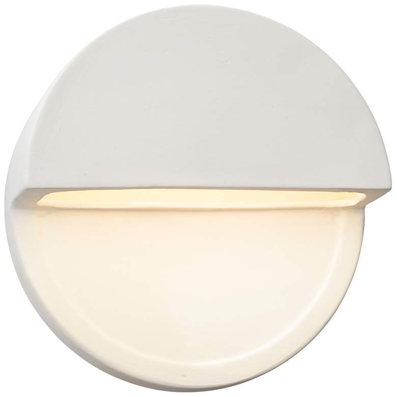 """Ambiance Collection™ 8""""H Bisque Dome LED Outdoor Wall"""