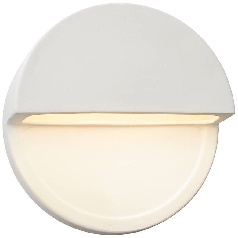 "Ambiance Collection™ 8""H Bisque Dome LED Outdoor Wall Light"
