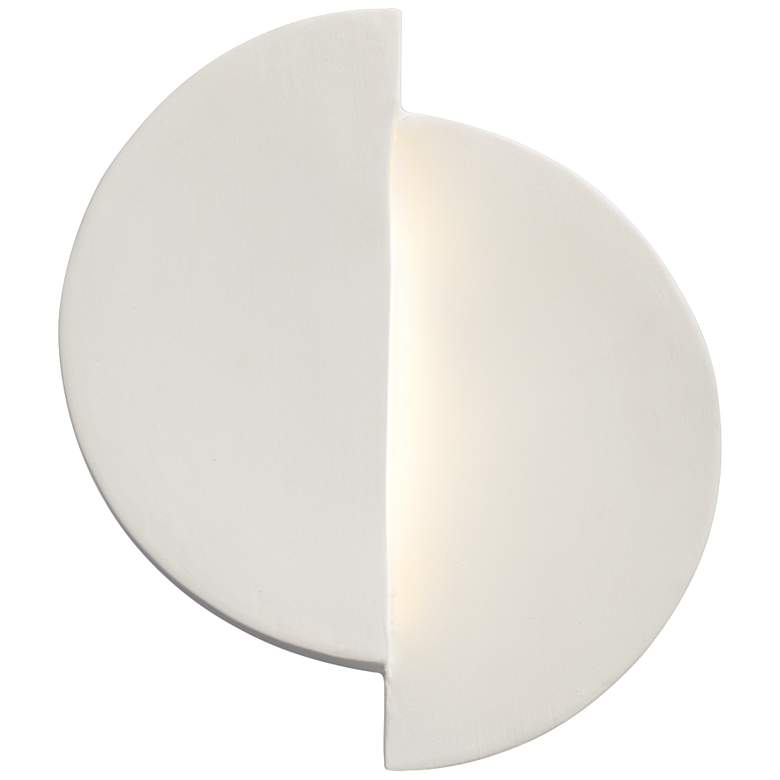 "Ambiance Collection™ 9"" High Bisque LED Wall Sconce"