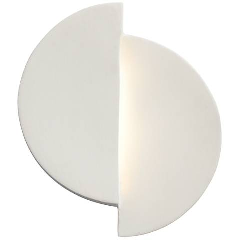 """Ambiance Collection™ 9"""" High Bisque LED Wall Sconce"""