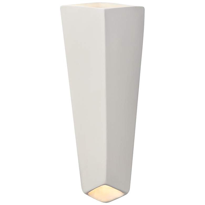 "Ambiance Collection™ 17"" High Bisque LED Wall Sconce"