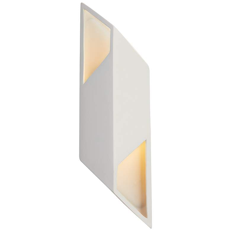"Ambiance Collection 17 1/2"" High Bisque LED Wall"