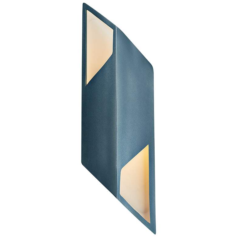 """Ambiance Collection 17 1/2""""H Midnight Sky LED Wall Sconce"""