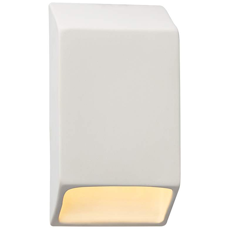 """Ambiance Collection™ 9 1/2""""H Bisque LED Outdoor Wall Light"""