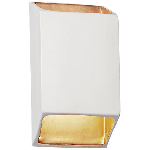 """Ambiance Collection 9 1/2"""" High Matte White LED Wall Sconce"""