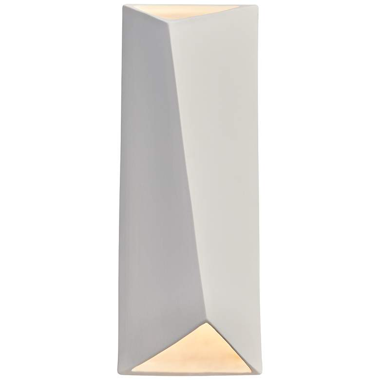 """Ambiance Collection™ 16"""" High Bisque LED Wall Sconce"""