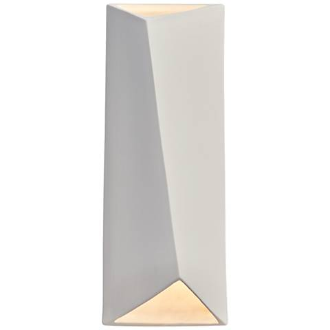 "Ambiance Collection™ 16"" High Bisque LED Wall Sconce"