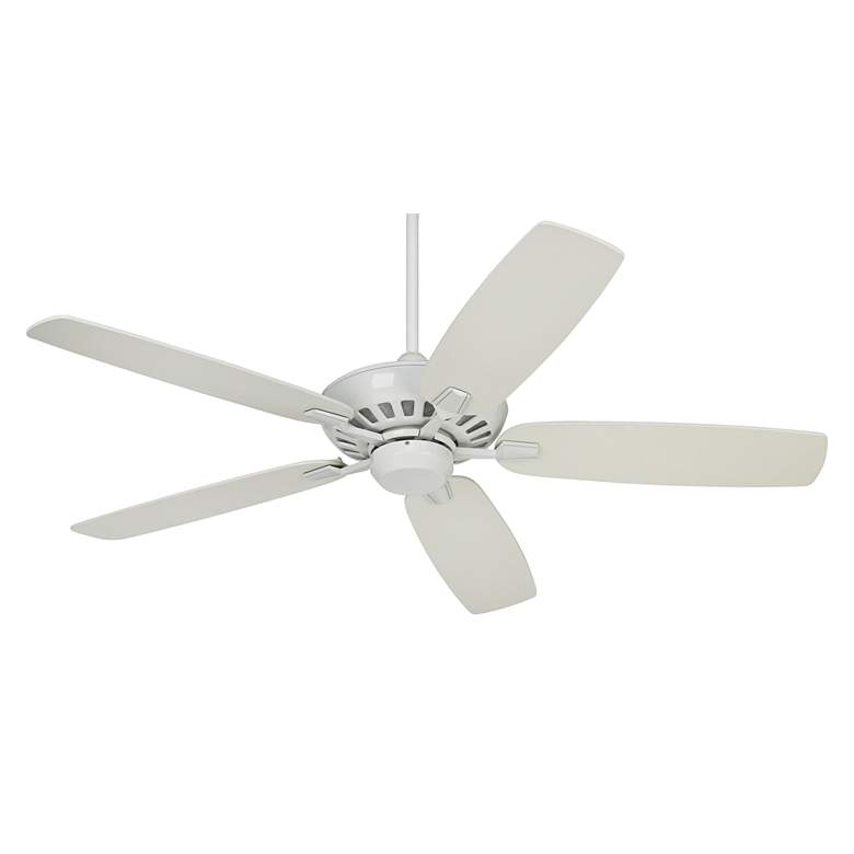 """52"""" Journey White Ceiling Fan with Dimming Remote"""
