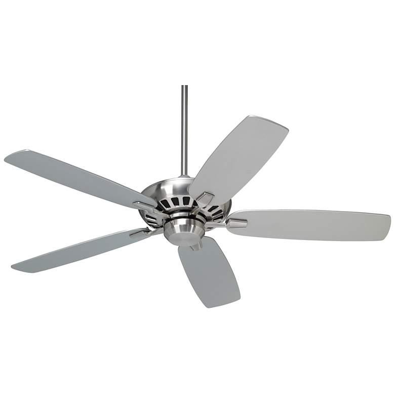 "52"" Casa Vieja Journey Brushed Nickel Ceiling Fan"