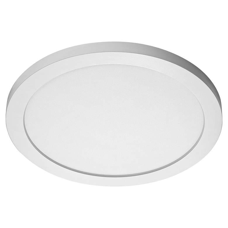 """Satco Blink Plus 15""""W White 4000K LED Round Ceiling Light"""