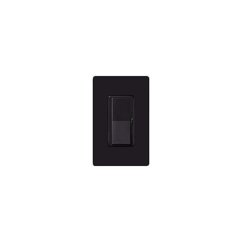Lutron Diva Black Electronic Single Pole Preset Dimmer