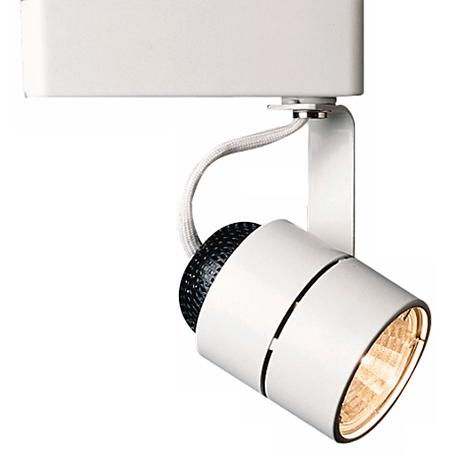 juno track lighting juno cylinder white track bullet light 61228 lamps plus 29273