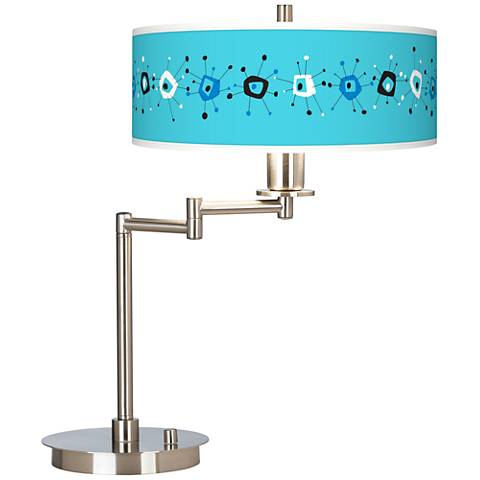 Sputnickle Giclee CFL Swing Arm Desk Lamp