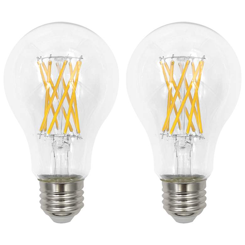 100W Equivalent Clear 12W LED Dimmable Standard 2-Pack