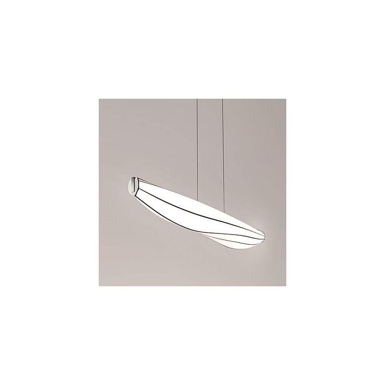 """Lenis 64 1/2"""" Wide Aluminum LED Kitchen Island"""