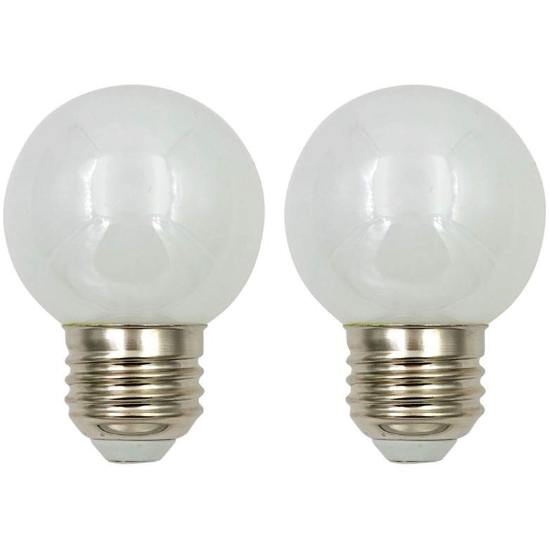 40W Equivalent Milky 4W LED 2700K Dimmable Standard 2-Pack