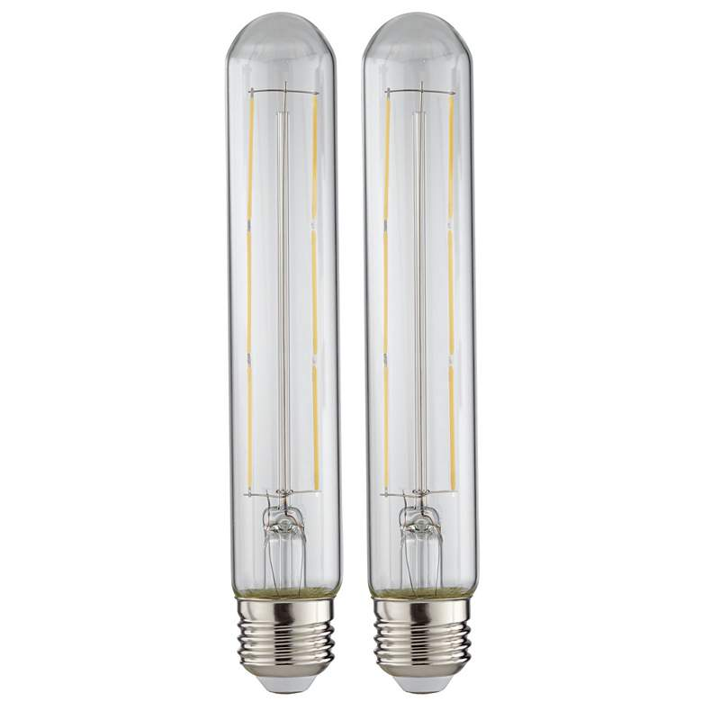 75W Equivalent Clear 10W LED Dimmable Standard T30 2-Pack