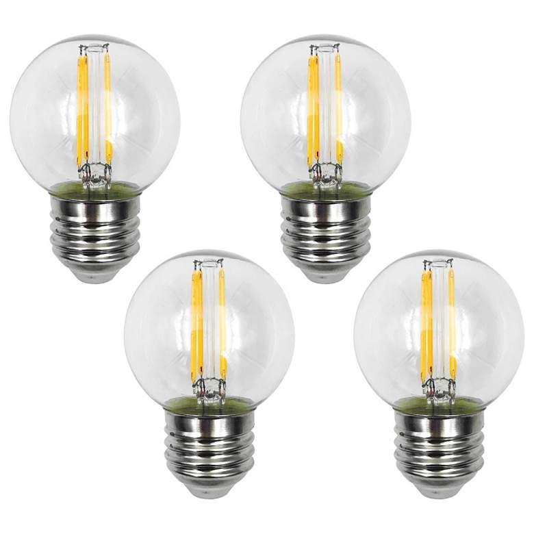 40 Watt Equivalent Clear 4 Watt LED Dimmable Standard 4-Pack