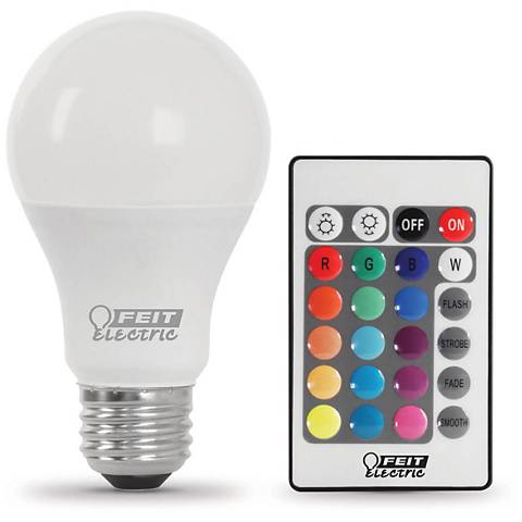 6W Equivalent Color Changing LED Standard Party Bulb