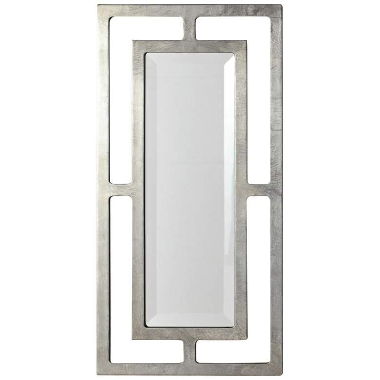 """York Silver Leaf 12"""" x 24"""" Wall Mirror"""