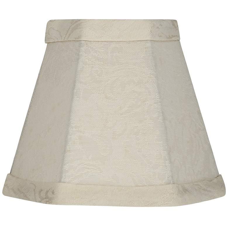 Rio Off-White Hexagon Lamp Shade 3x5.5x4.5 (Clip-On)