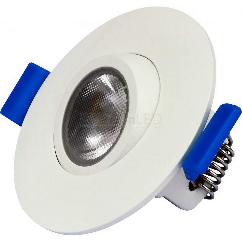 "Housing Free 2"" White 8 Watt LED Recessed Trim"