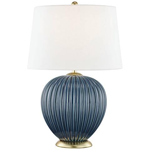 Mitzi Jessa Denim Blue Porcelain Accent Table Lamp