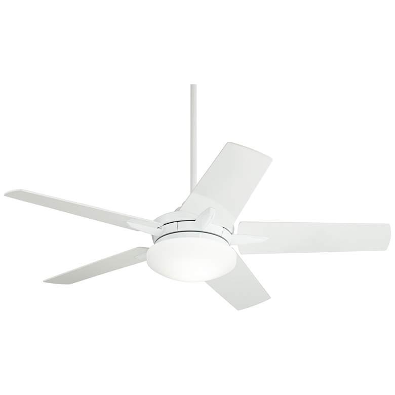 """56"""" Casa Endeavor® White Finish LED Ceiling Fan"""