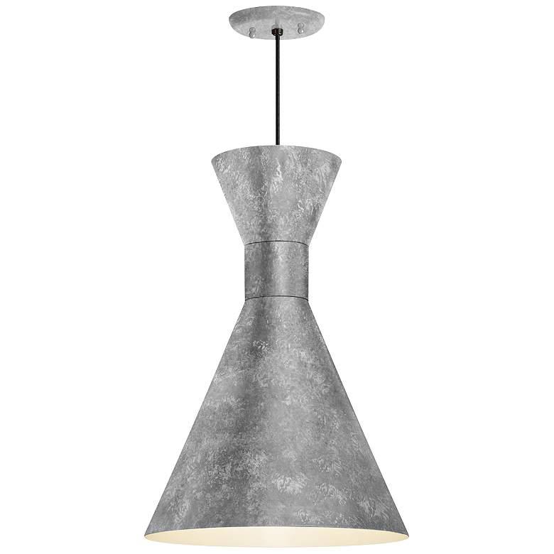 Rlm Mid Century 15 1 4 Quot H Galvanized Outdoor Hanging Light