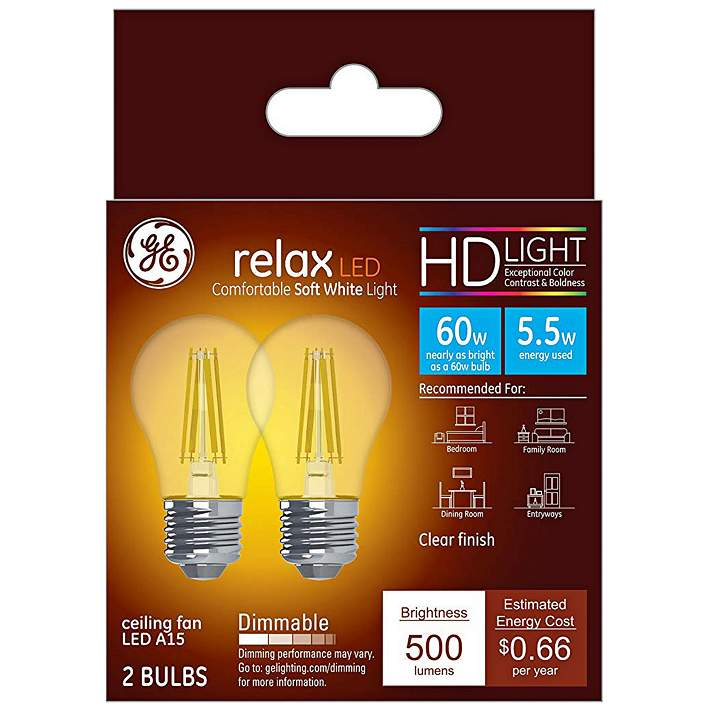 Clear 5 5w Filament Led Dimmable Bulb