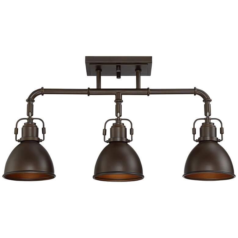 Pro Track Wesley 3-Light Oil-Rubbed Bronze Track Fixture
