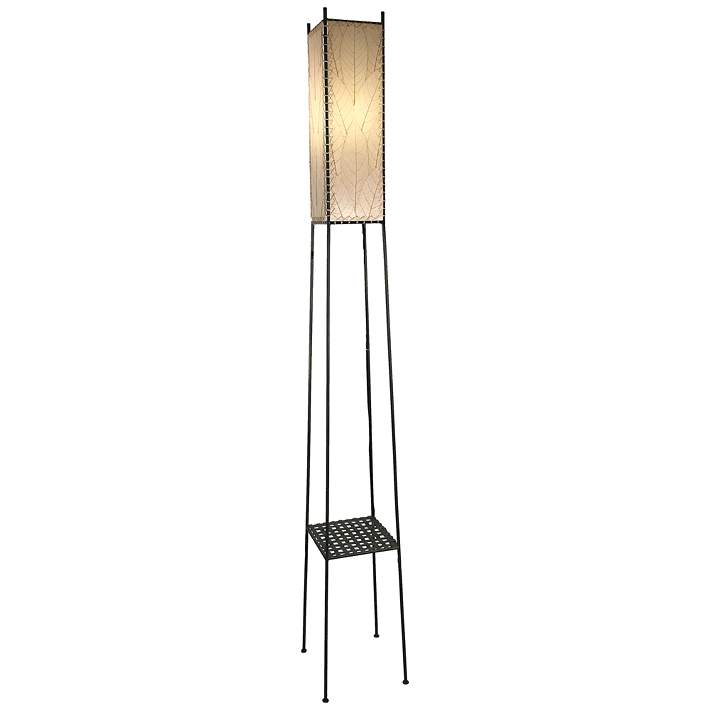 Cocoa Leaves Led Outdoor Floor Lamp