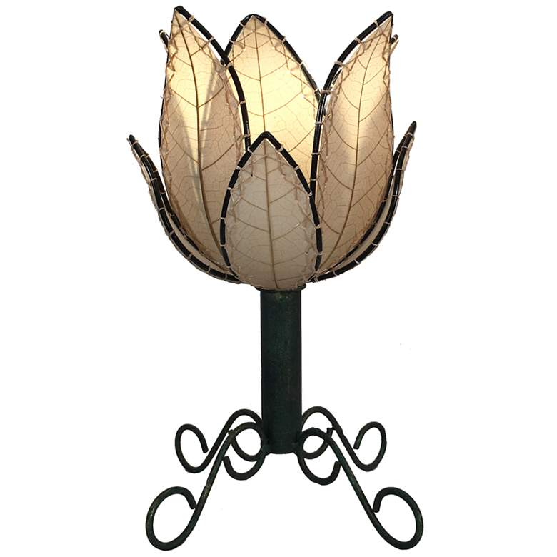 "Eangee Lotus 15"" High Natural LED Outdoor Accent"
