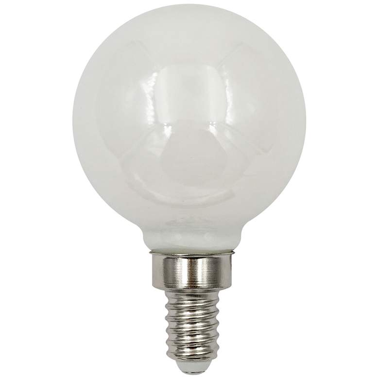 60W Equivalent Milky 6W LED Dimmable E12 Base G16 Filament
