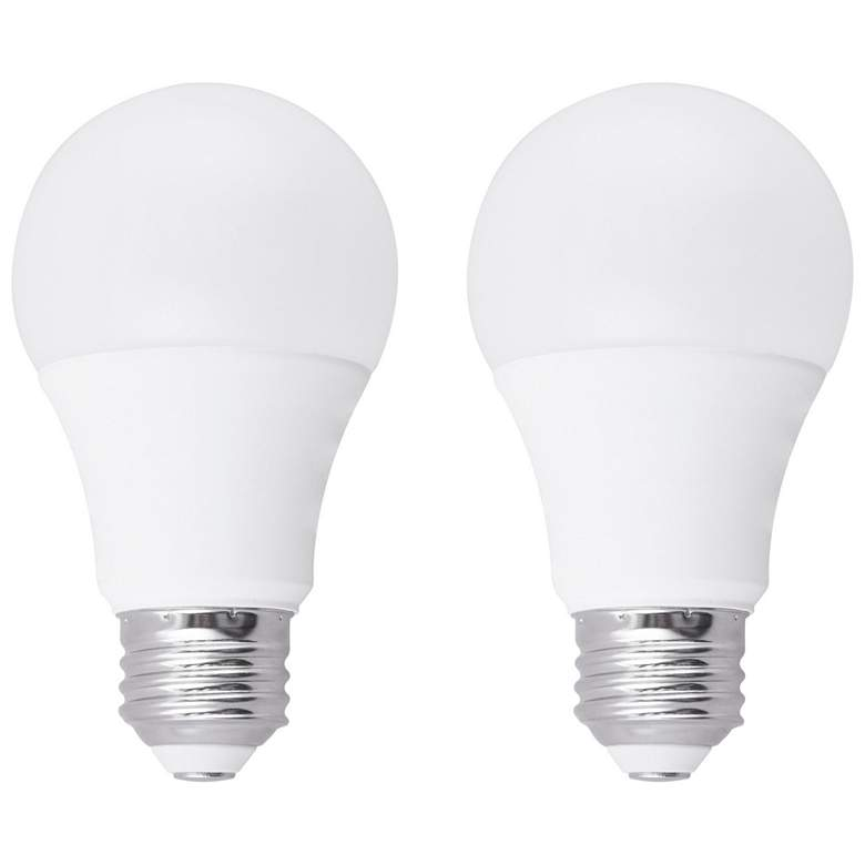 40W Equivalent Frosted 7W LED Dimmable Standard 2-Pack