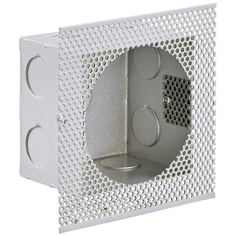 "ET2 Alumilux 4"" Wide White Rough In Box Wall Light"