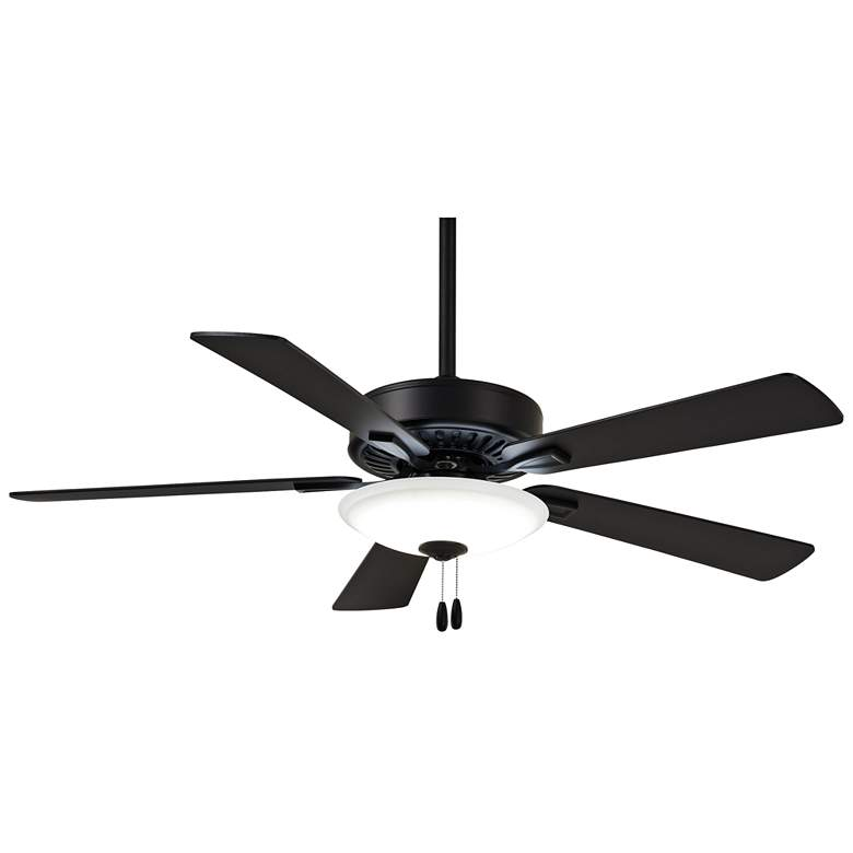 "52"" Minka Aire Contractor Uni-Pack Coal LED Ceiling Fan"