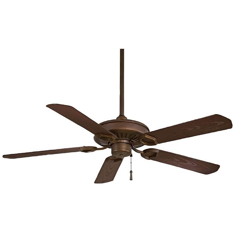 """54"""" Minka Aire Bronze Sundowner Ceiling Fan"""
