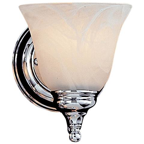 "Feiss Bristol Collection 7"" High Chrome Wall Sconce"