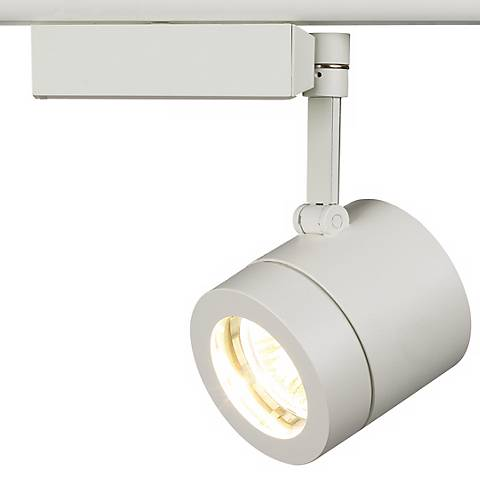 Lightolier Classic White MR16 Cylinder Track Light