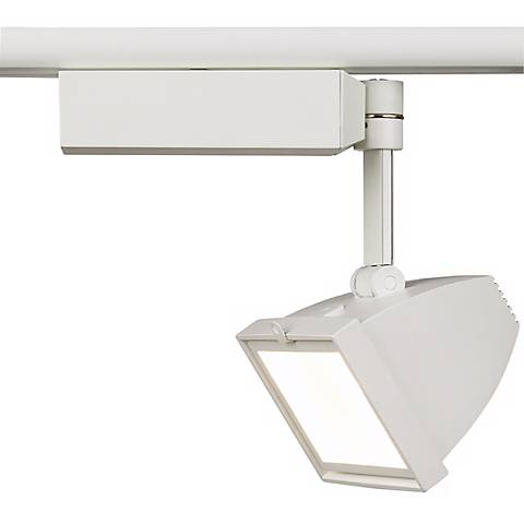 Lightolier White Micro Track Floodlight
