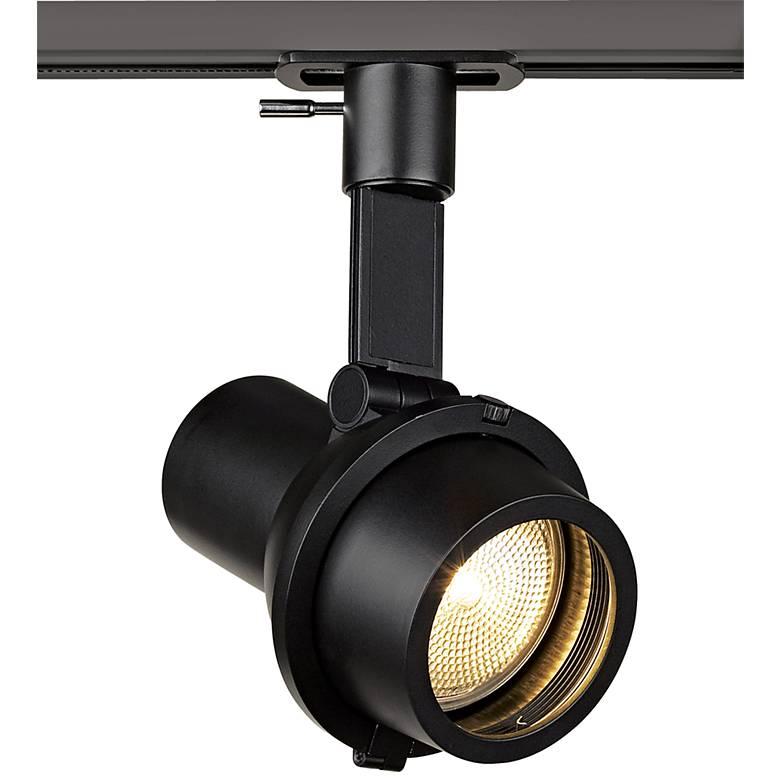 Lightolier Alcyon Step Spot Black PAR 20 Track Light