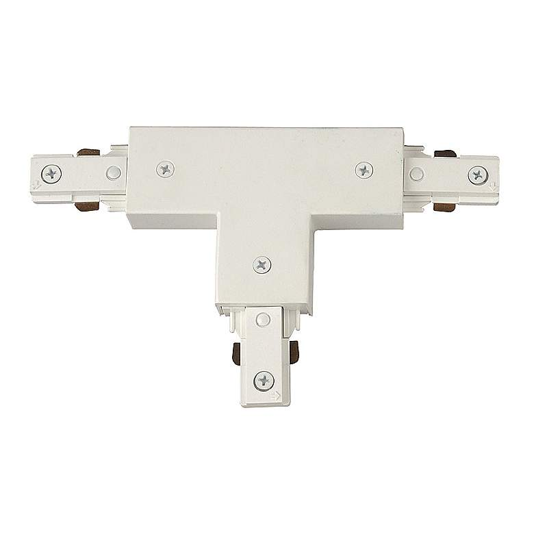 White Halo Compatible T-Shaped Track Connector