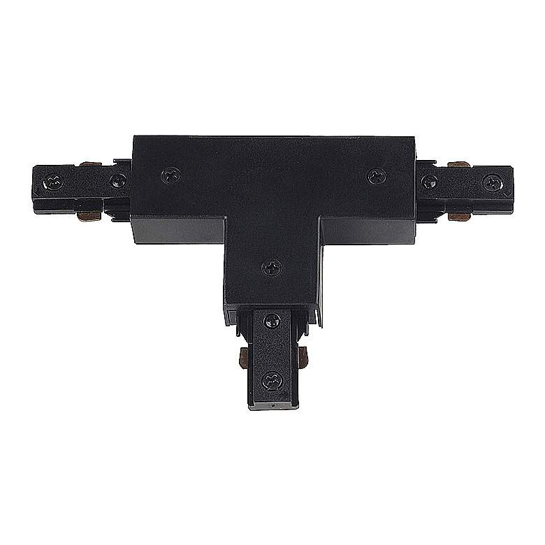 BLACK Halo Compatible Adjustable T-Connector Track Joiner