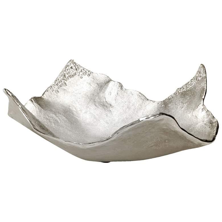Wildwood Contemporary Silver Aluminum Tray