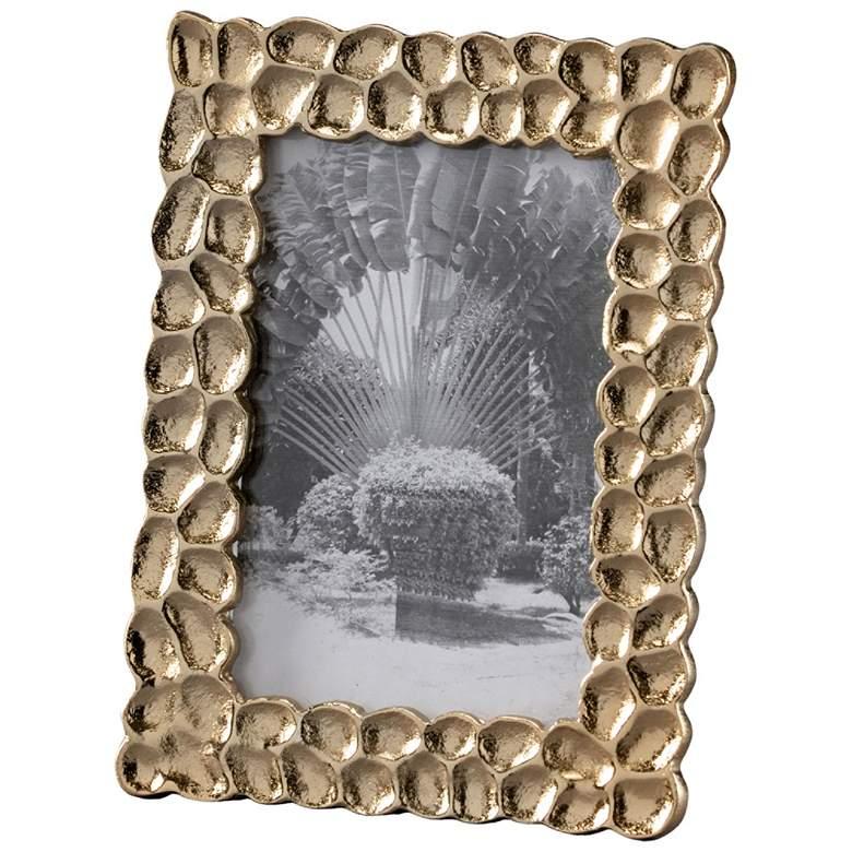 Wildwood Ambered Silver 4x6 Thumbprints Photo Frame